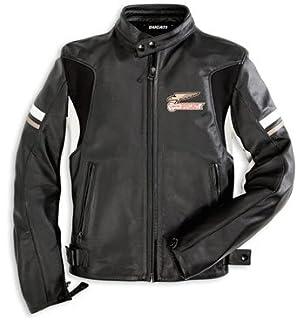 Amazoncom Ducati Heritage Leather Jacket Size 56 Automotive