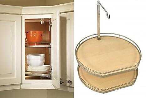 Outstanding Amazon Com Kessebohmer 2501220005 Twister Corner Cabinet Interior Design Ideas Tzicisoteloinfo