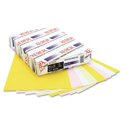 Xerox Premium Digital Carbonless Paper 4-Part Straight Collated White/Yellow/Pink/Gold, 8.5'' x 11'' (3R12430) by Xerox