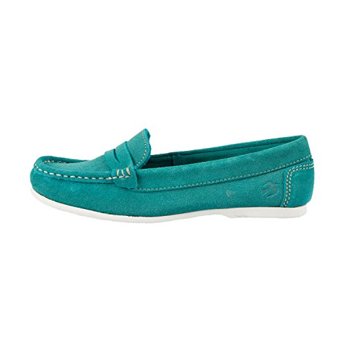 on Shoe Loafer Green Suede Slip Brakeburn Women's BBLFOO007050S16 BqI6w6