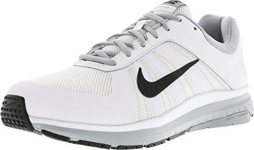 Nike Dart 12 (4e), Chaussures de Running Entrainement Homme Blanco (White / Black-wolf Grey)