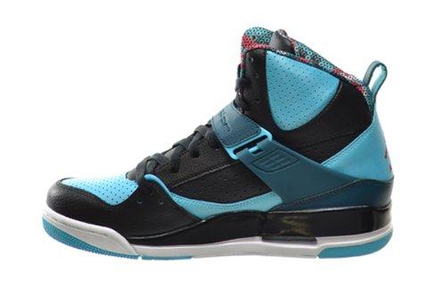 wholesale dealer be443 9ce80 Jordan Flight 45 High Men s Basketball Shoes Black Gym Red-Dark Sea ...