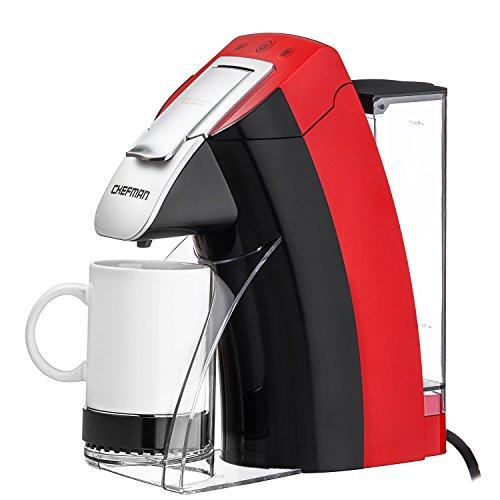 Chefman, My Barista Single Serve Coffee Maker, Red ...