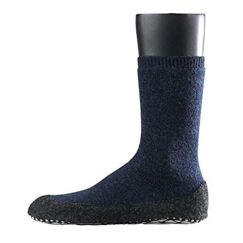 Falke 16560 Cosyshoe Socke - Calcetines cortos para hombre dark blue melange-6680