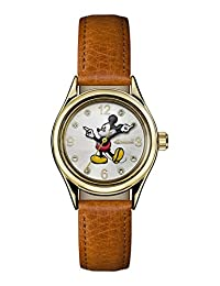 Ingersoll Women's Automatic Metal and Leather Casual Watch, Color:Brown (Model: ID00901)