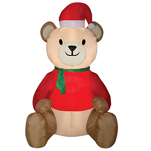 Outdoor Lighted Teddy Bear in US - 9