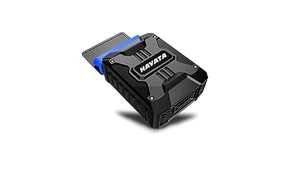[mejor portátil Cooler] Hayata lpc-03 Air extraer para ordenador portátil de refrigeración con ventilador de vacío - Alimentado por USB, viento Control, ...