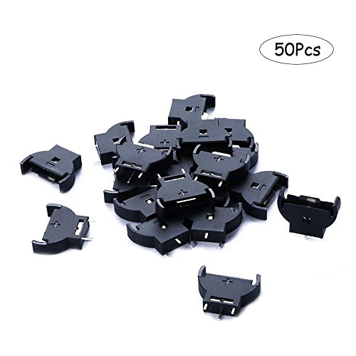 Ximimark 50PCS CR2032 2032 3V Socket Holder Case HU