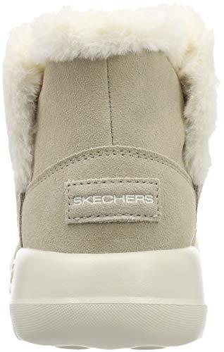 15501 On Skechers go Women's Taupe Boot Chukka The Joy Z7Xw67q