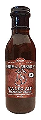 KC Natural - Paleo AIP Barbecue Sauce, Primal Cherry, 14 oz (2 pack)