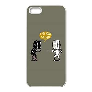 Fencing Star Wars iPhone 4 4s Cell Phone Case White phone component AU_518556