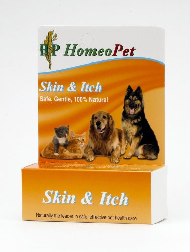HomeoPet Skin and Itch Relief, 15 ml, My Pet Supplies