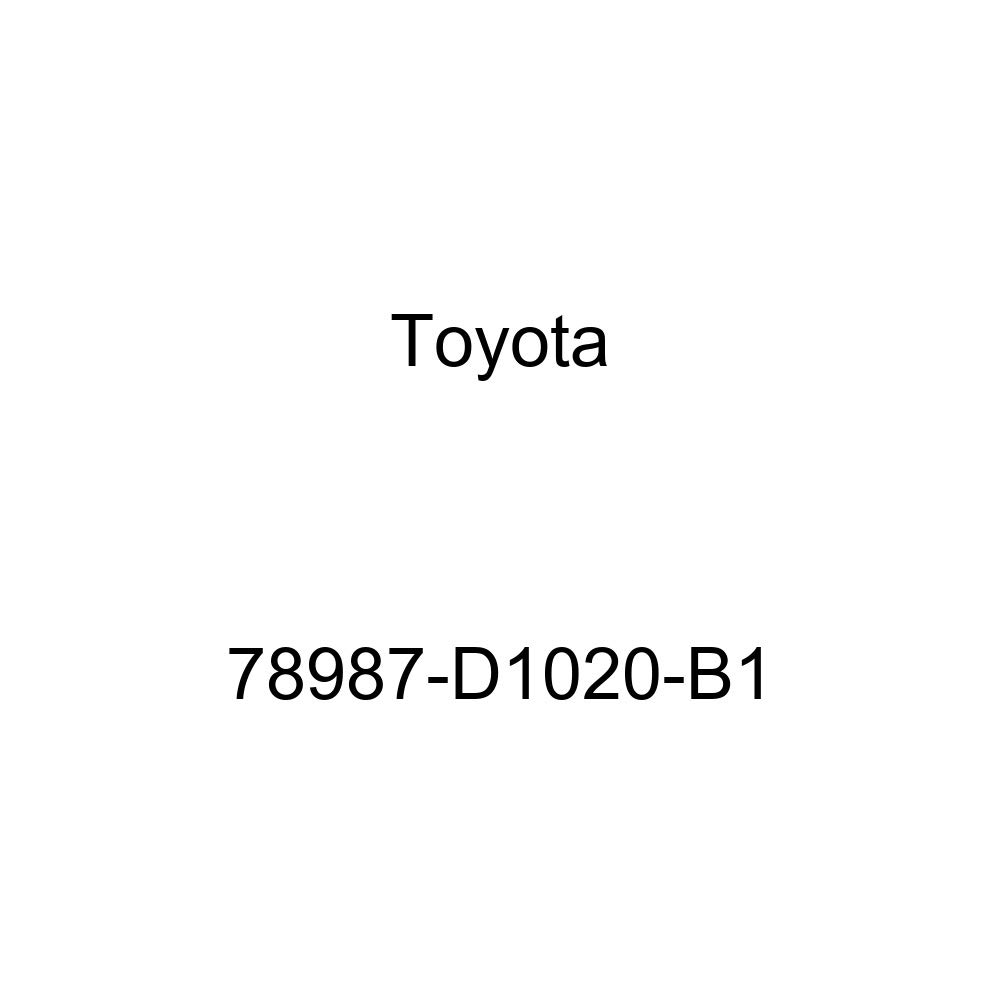 TOYOTA 78987-D1020-B1 Seat Footrest Cover