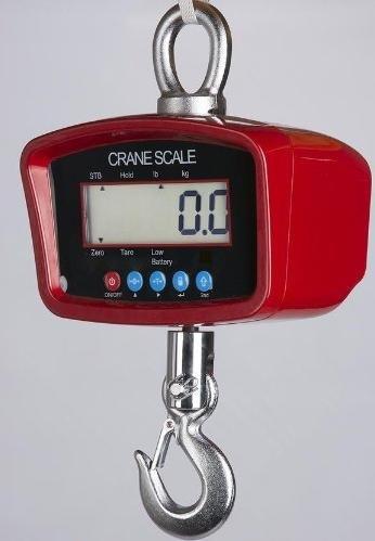 Crane Scale 500 LB X 0.1 LB, Hanging Scale