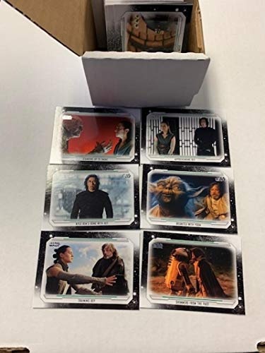 2019 Topps Star Wars Skywalker Saga Complete Non Sport Trading Card Set of 100 Cards - Overall Condition NM-MT