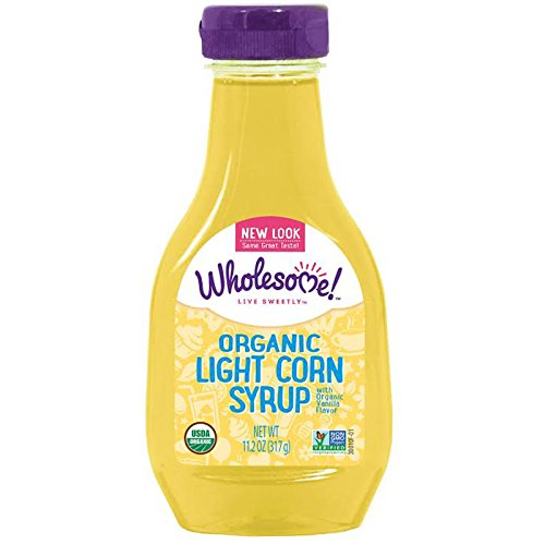 Wholesome Sweeteners, Inc., Organic Light Corn Syrup, Vanilla Flavor, 11.2 oz (315 g) - 2pcs ()