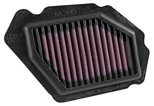 K&N Engine Air Filter: High Performance, Premium, Powersport Air Filter: 2015-2019 KAWASAKI (ZX1000 Ninja H2, ZX1000 Ninja H2 Carbon, ZX1000 Ninja H2 SX SE, ZX1000 Ninja H2 SX) KA-9915