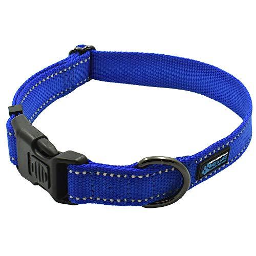 Max and Neo&Trade; NEO Nylon Buckle Reflective Dog Collar -