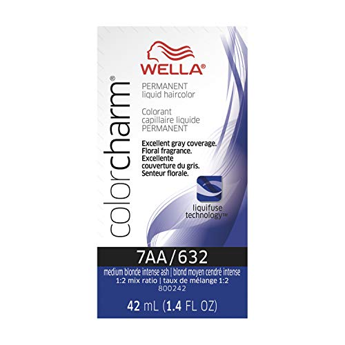 Wella Color Charm Liquid 7aa Med Blonde Int Ash, 1.42 oz.