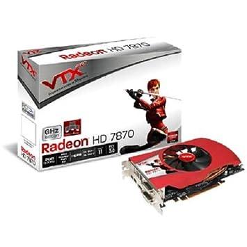 VTX3D AMD Radeon HD 7870 - Tarjeta gráfica (2 GB, GDDR5, PCI ...