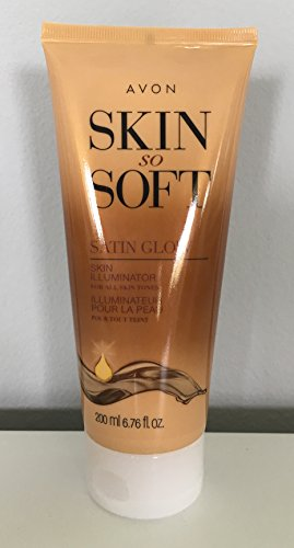 Avon Skin So Soft Satin Glow Skin Illuminator 6.76 Fl Oz