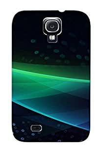 First-class Case Cover Series For Galaxy S4 Dual Protection Cover Curves And Circles Cfzqmm-6977-zsywsgr
