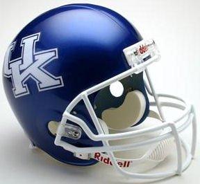 Riddell Kentucky Wildcats Deluxe Replica Helmet - Kentucky Wildcats One Size (Helmet Wildcats Deluxe)