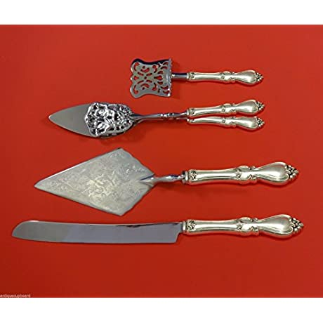 Queen Elizabeth I By Towle Sterling Silver Dessert Serving Set 4pc HHWS Custom