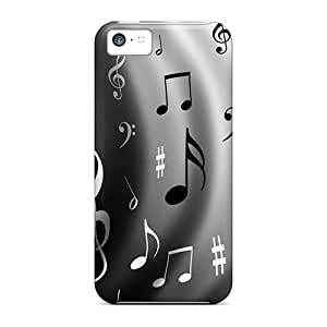 Mycase88 Shockproof Scratcheproof Music Hard Cases Covers For Iphone 5c