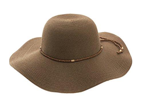 G Women's Toyo Braid Floppy Hat - Wide Toyo Braid Hat