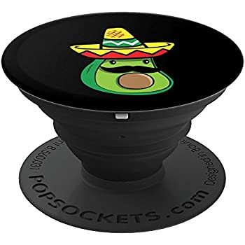 Cute Avocado Mustache Sombrero Mexican Guacamole Vegan Gifts