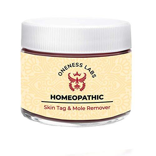 Homeopathic Mole and Skin Tag Remover - Neck Tag Mole Removal Cream (1 oz.)