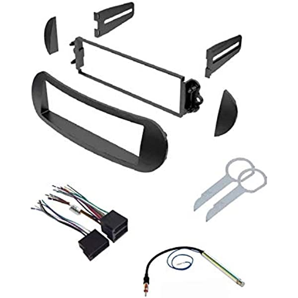 amazon.com: asc car stereo dash kit, wire harness, antenna adapter, and  radio tool for installing a single din radio for select vw volkswagen beetle  vehicles - compatible vehicles listed below: car electronics  amazon.com