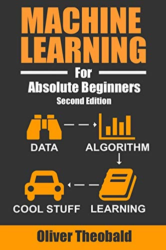 Machine Learning For Absolute Beginners A Plain English Introduction (Machine Learning For Beginners) [Theobald, Oliver] (Tapa Blanda)