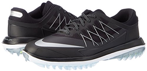 Control Lunar White Mens Steam Metallic Black Silver Nike Black Sneaker RSBx54Bwq