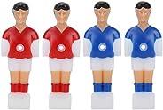 Foosball Player Soccer Games Foosball Player Set Mini Humanoid Plastic Doll Table Football Machine Accessory