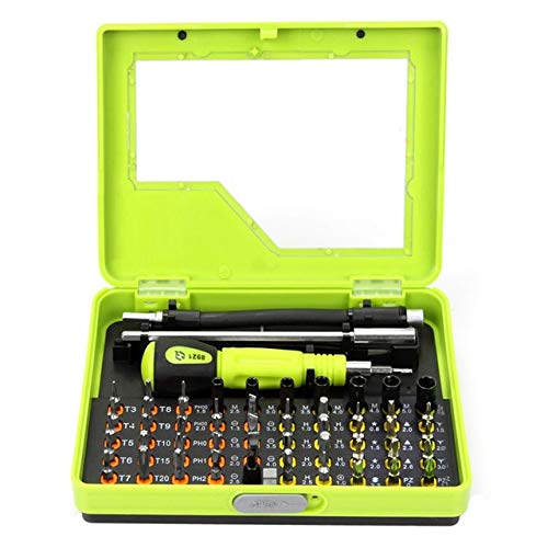(BeesClover Profession 53 in1 Multi-Bit Precision Torx Screwdriver Tweezer Sets for Mobile Phone PC PDA housings PSP NDS MP3 Opening Show)