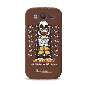 Diabloskinz D0079-0066-0023 - Carcasa para Samsung Galaxy S3, diseño de caníbal