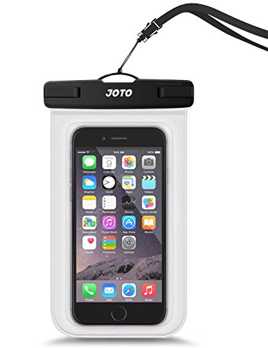 (JOTO Universal Waterproof Pouch Cellphone Dry Bag Case for iPhone Xs Max XR XS X 8 7 6S Plus, Galaxy S10 Plus S10e S9 Plus S8 + Note 8 6 5 4, Pixel 3 XL Pixel 3 2 up to 6.5