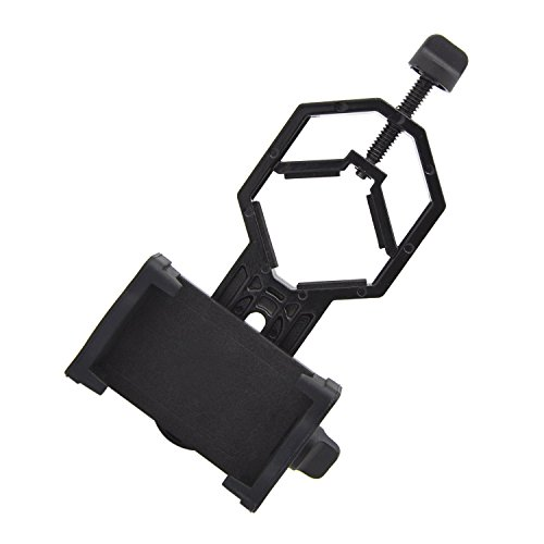B.LeekS Cellphone Adapter Mount,Spotting Scope Mobile Phone Holder,Compatible with Binocular Monocular Spotting Scope Telescope and Microscope,Perfect for Recording the Nature of the World from B.LeekS