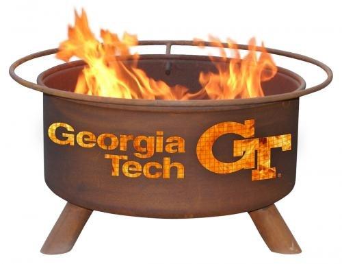 Cheap Georgia Tech Yellow Jacket Fire Pit & Grill