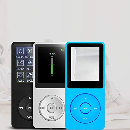 HiFi Sound MP3 MP4 Player Lossless Music Playing 1.8'' Screen Audio Video Player E-Book FM Radio with 8GB TF Card