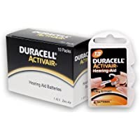 40 Duracell Activair Hearing Aid Batteries Size: 13