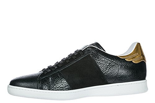 In Richmond John Scarpe Nero Panama Uomo Sneakers Nuove Pelle OzxRwq