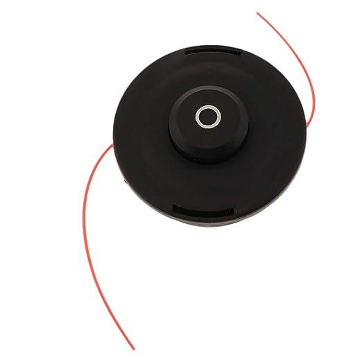 B Blesiya Universal 2 Line Bump Feed String Trimmer Head Repuesto ...