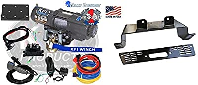Polaris Ranger 570 (Mid Size) 2015-2016 4500lb Winch Kit and Winch Mount