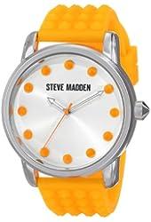 Steve Madden Women's SMW00001-28 Analog Display Quartz Orange Watch