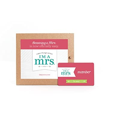 Marriage Name Change Kit, Unique Wedding Gift for the Bride!