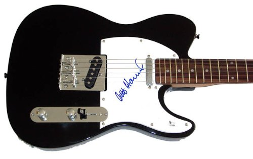 The Strokes Autographed Signed Guitar & Video Proof GAI AFTAL