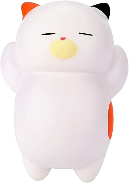 Cat Toast Squishy Squishies Slow Rising Cream Squeeze Scented Reliever Stress Toy Adorable Toys Kariwell Squishy Toys Coffee❤️